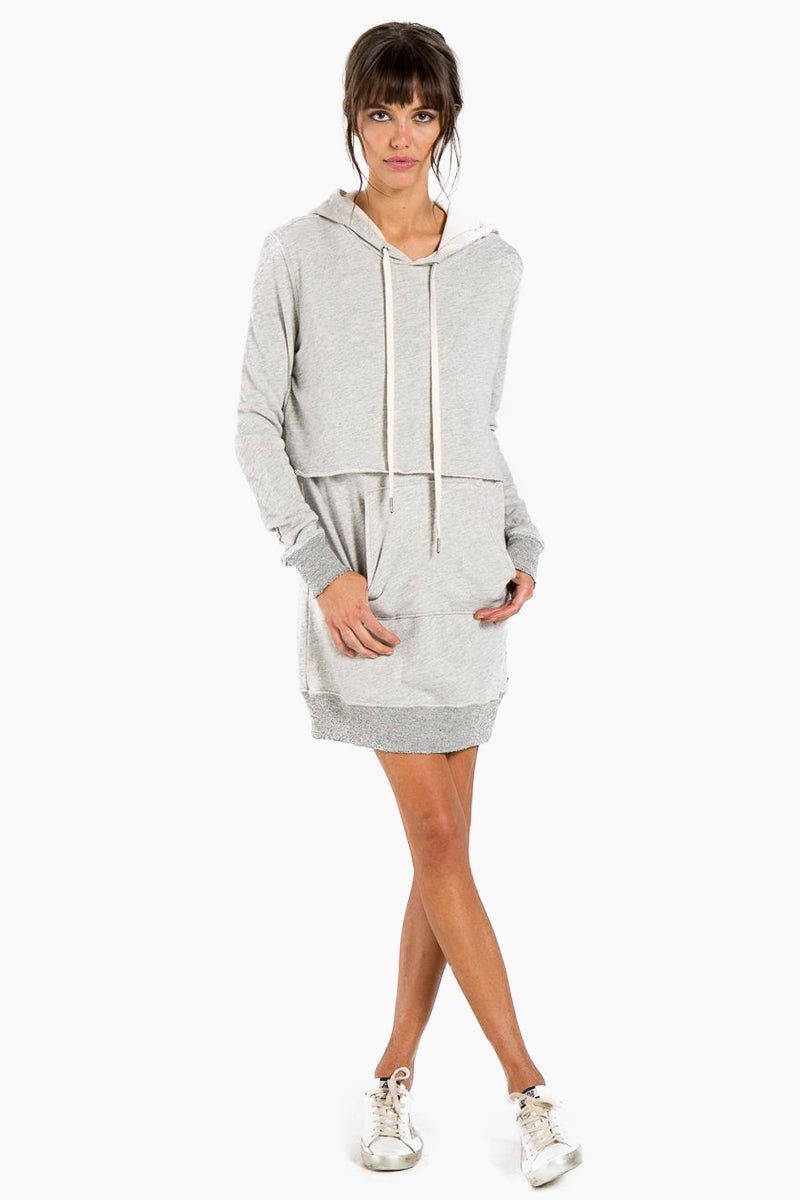 Sammy Dress - Heather Grey
