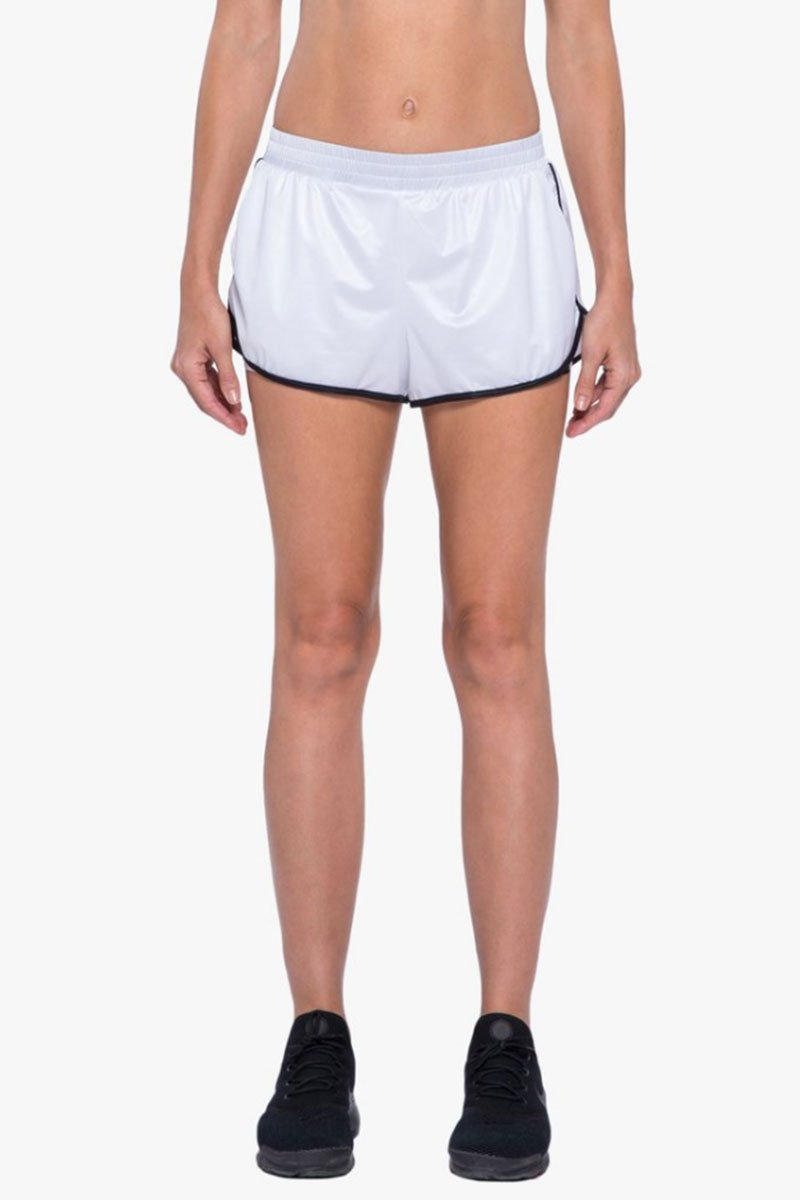 Scout Double Layer Shorts - White/Black