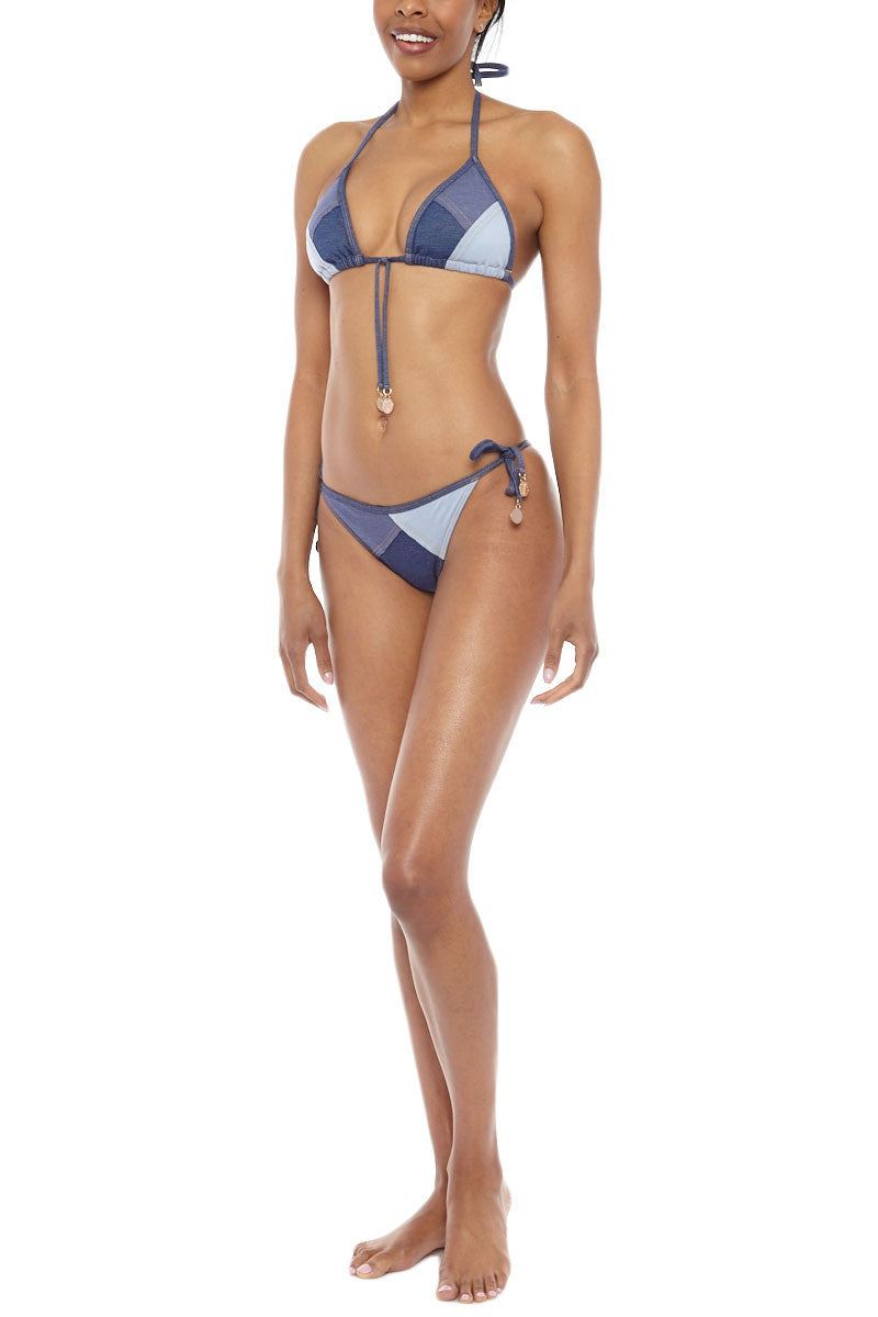 SEAFOLLY Out Of The Blue Top Bikini Top | Denim| Seafolly Out Of The Blue Bikini Top