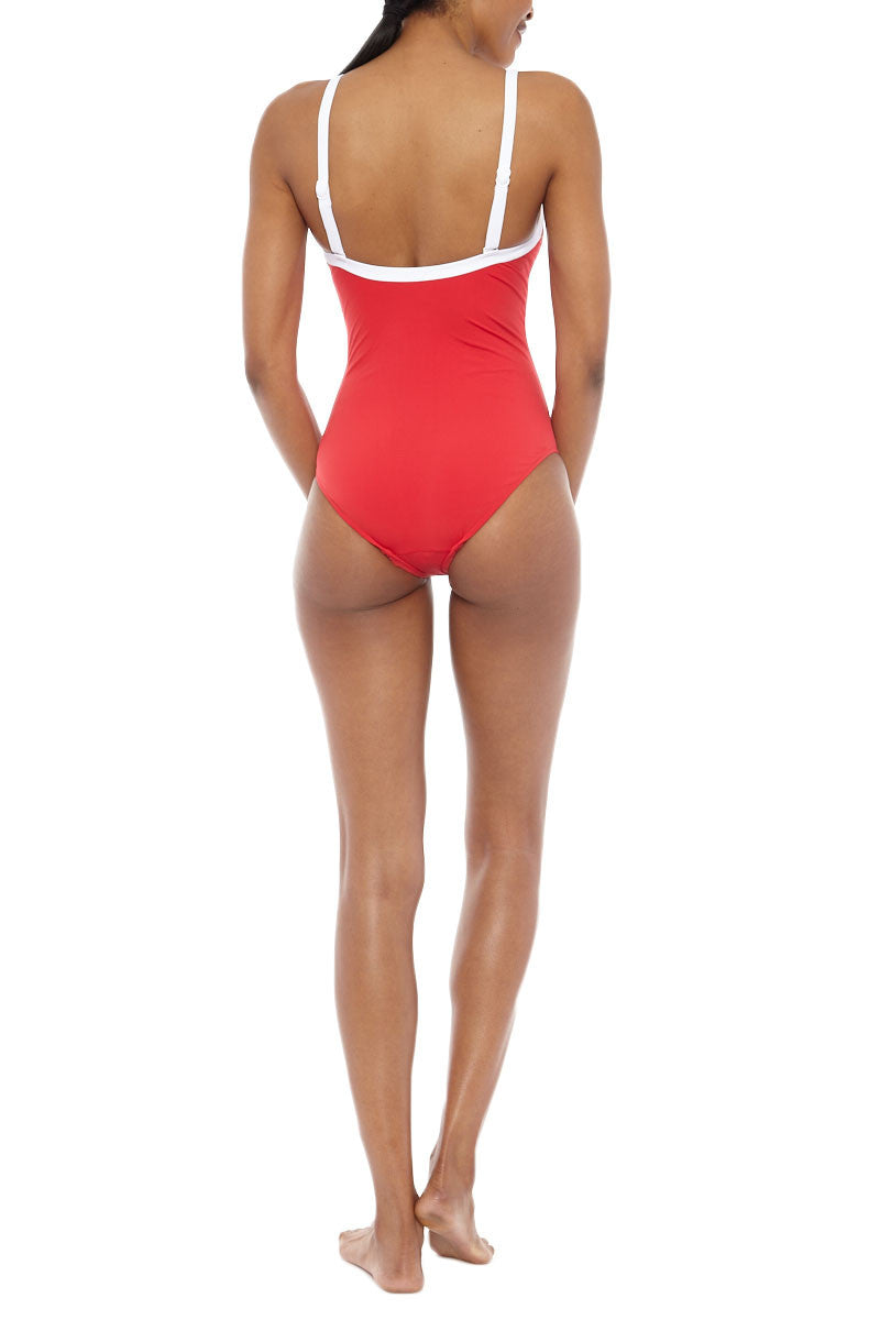 SEAFOLLY Sweetheart One Piece One Piece | Chilli Red| Seafolly Sweetheart One Piece