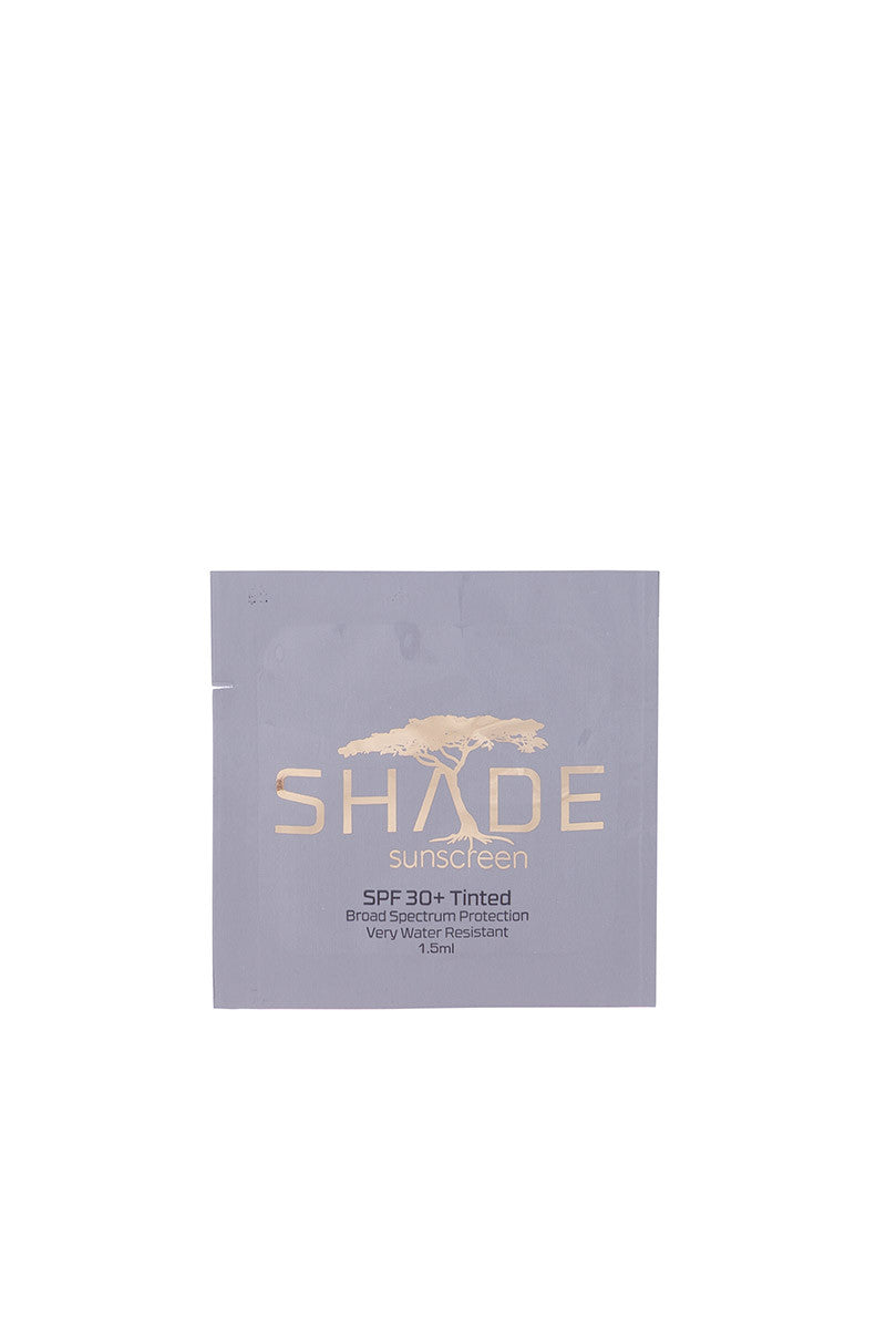 SHADE SPF30 Tinted Sunscreen Travel Packet Beauty | Tinted|