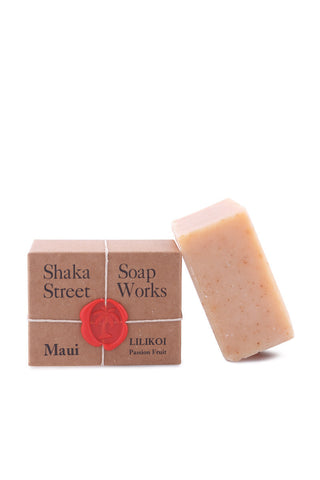 SHAKA STREET Lilikoi Soap Beauty | Passion Fruit|