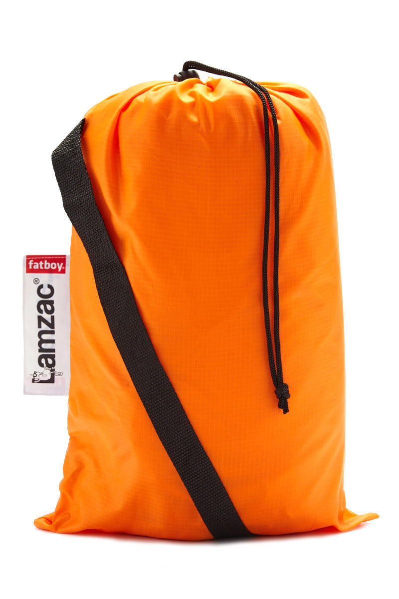 SMOOTHBAG Inflatable Pop-Up  Sofa Accessories | Orange| Smoothbag Inflatable Pop-Up Sofa