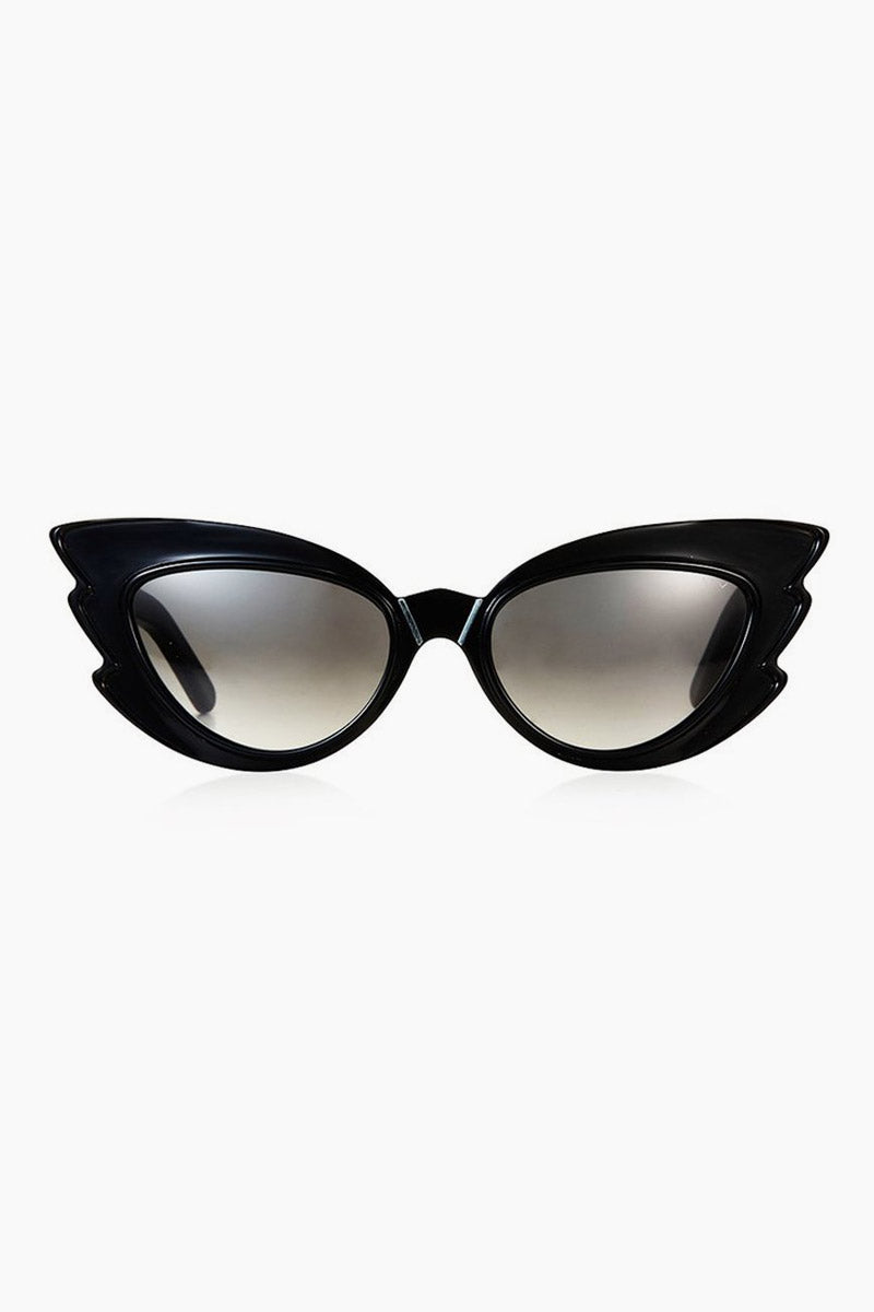 Stargazers Sunglasses - Black/Grey Lenses