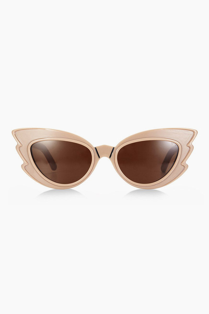 Stargazers Sunglasses - Light Fawn/Brown Lenses