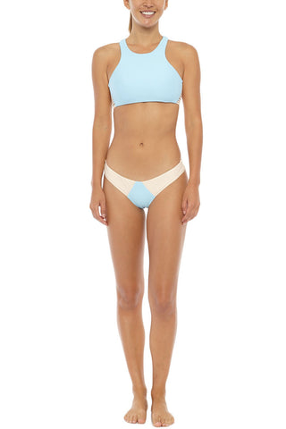 STONE FOX SWIM Venice Top Bikini Top | Sky Naked Block| Stone Fox Swim Venice Bikini Top