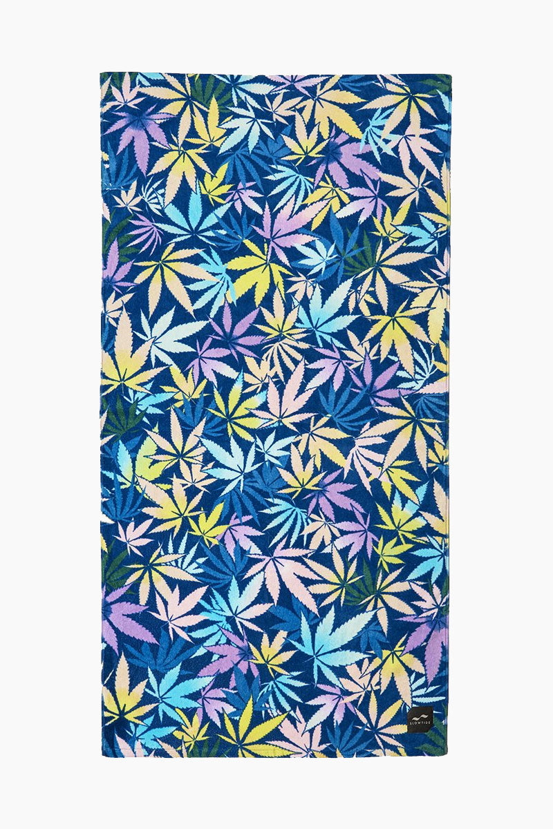 Stoney Beach Towel - Multicolor Stoney Print