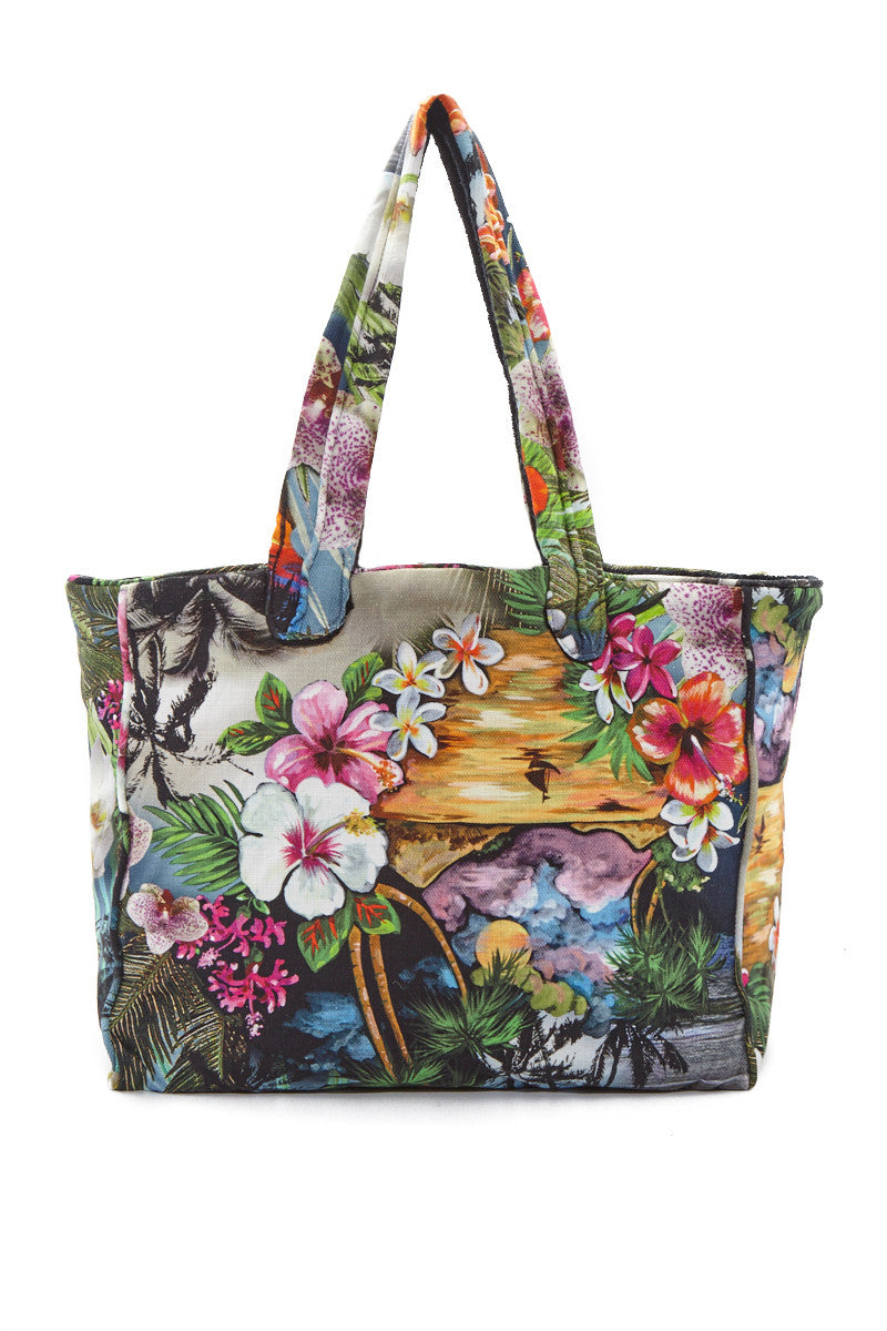 Hawaiian Tropic Bag - Vibrant Tropical Print