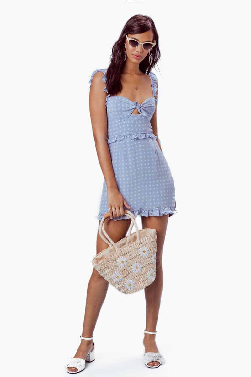 Sweetheart Mini Dress - Periwinkle