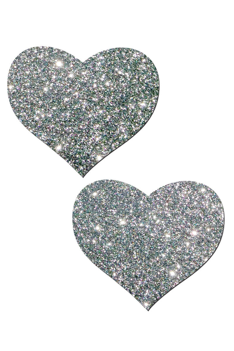 PASTEASE Sweety Pasties Accessories | Silver Shimmer|