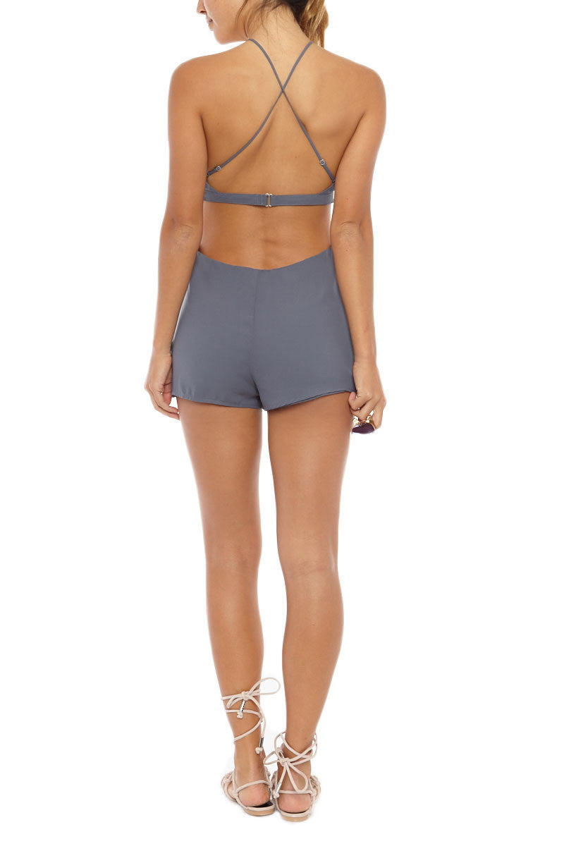 TAVIK Harlow Playsuit Cover Up | Ombre Blue| Tavik Harlow One Piece