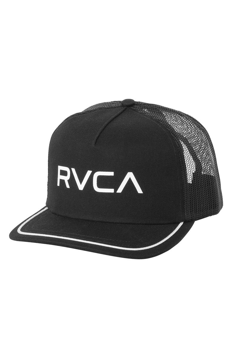 Title Trucker Hat - Black