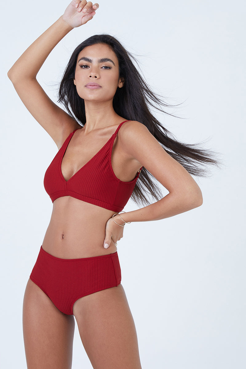 5e7cf10f15138 ... MADE BY DAWN Valley Mid Rise Bikini Bottom - Root Rib - undefined  undefined