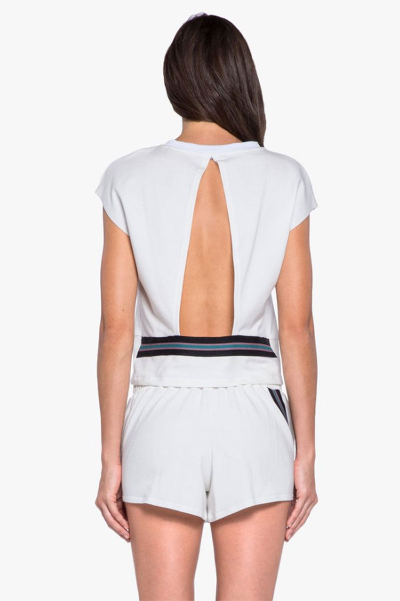 Watch Open Back Top - White