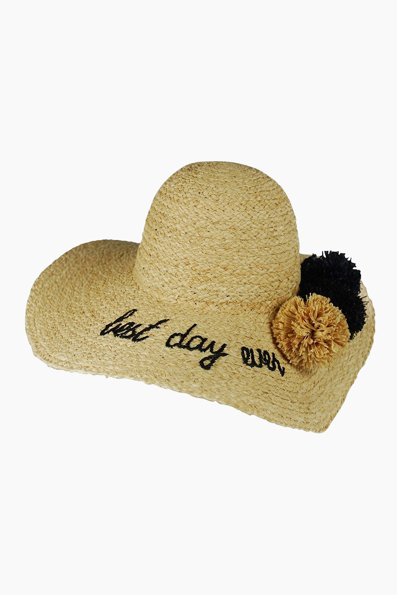 What's Your Motto Sunhat - Best Day Ever