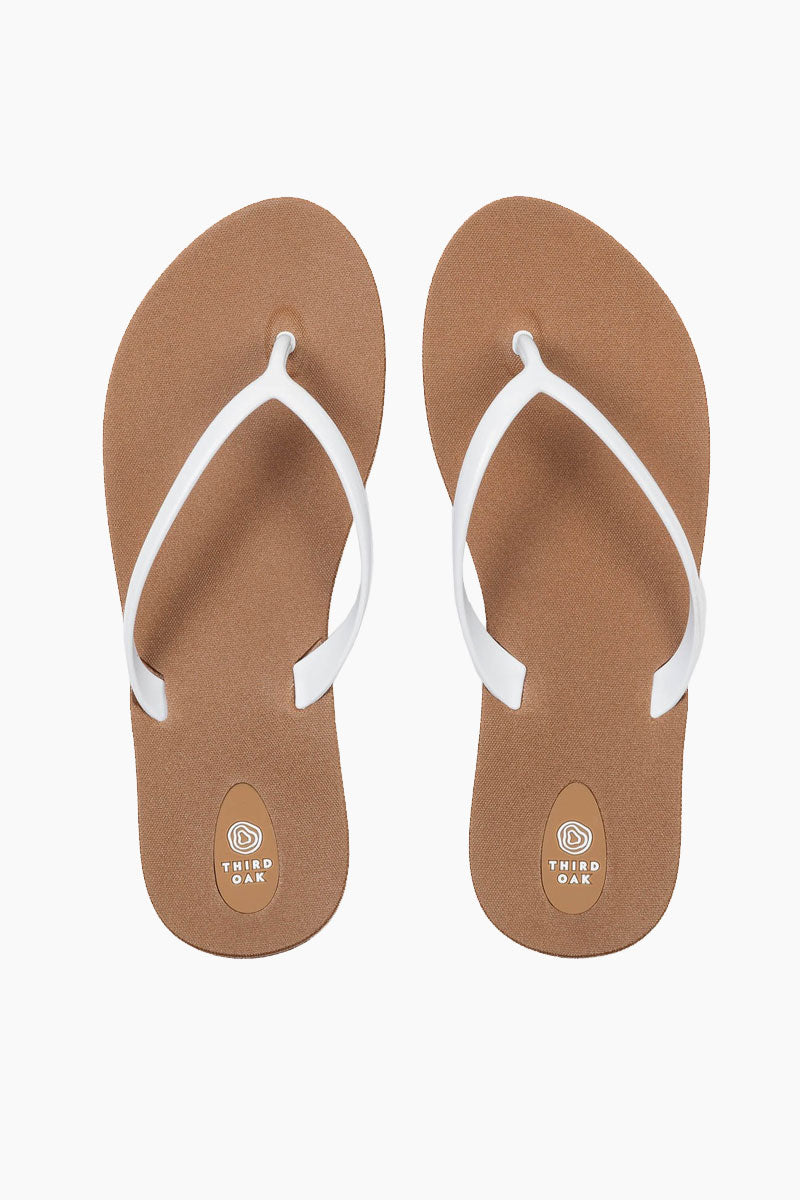 Scout Toffee Sole Sandals - White
