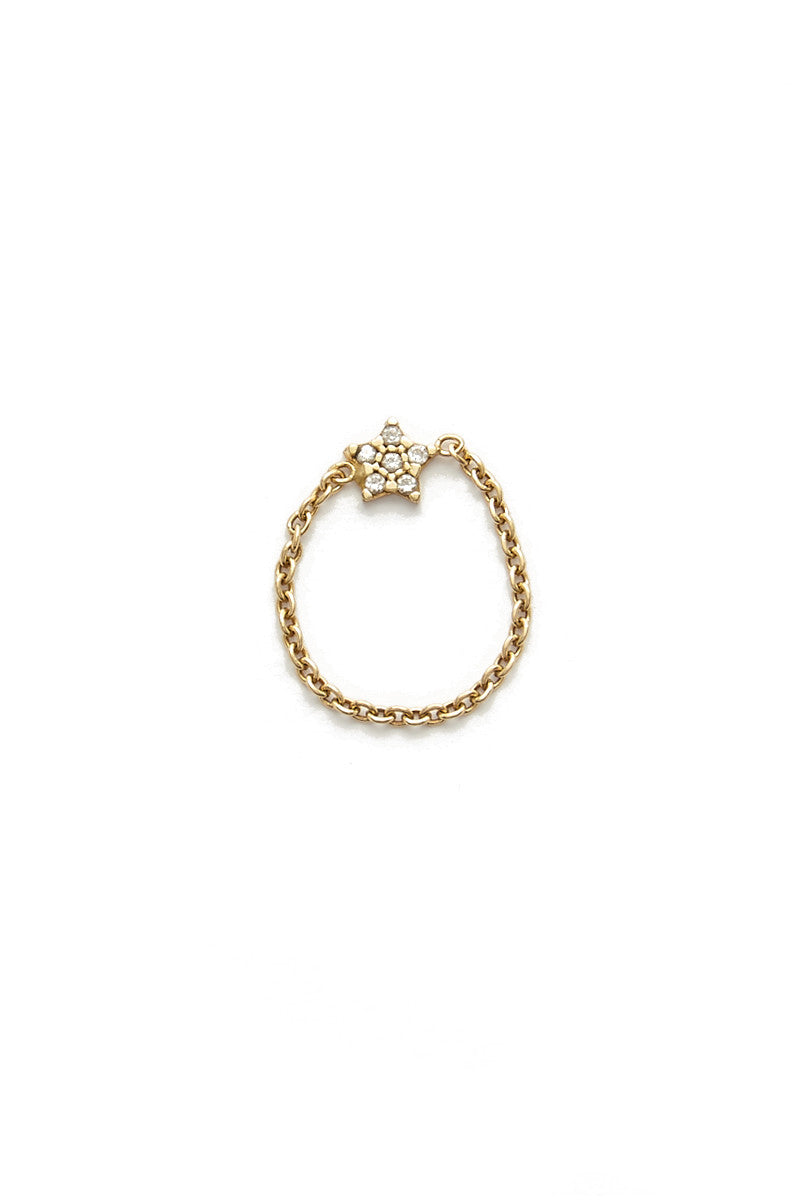 Wish Upon A Star Chain Ring