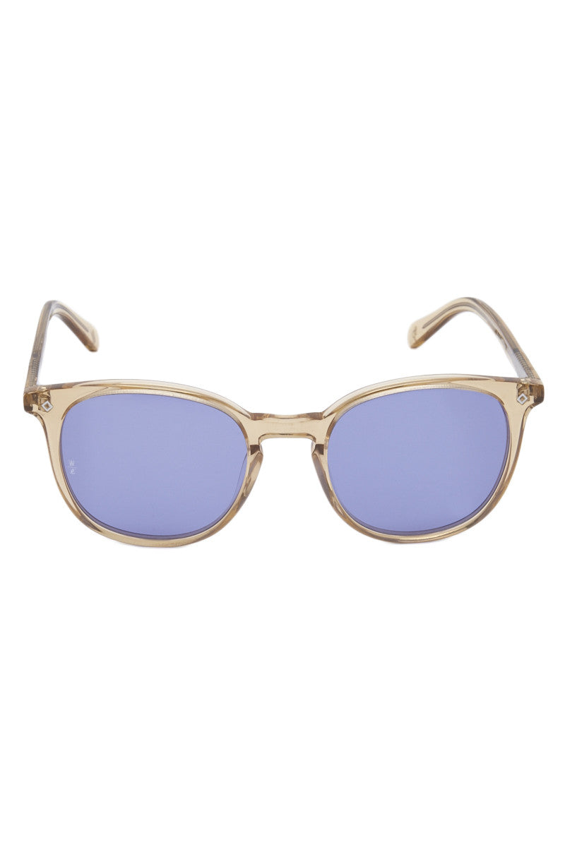 Barstow Sunglasses - Clear/Blue