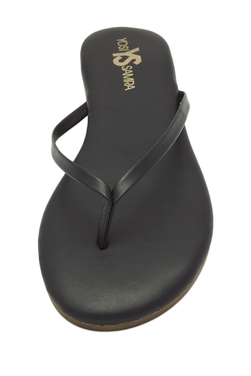 Roee Leather Sandals - Black