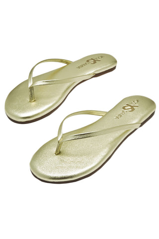 YOSI SAMRA Roee Sandals in Gold Sandals | Gold| Yoshi Roee Sandal
