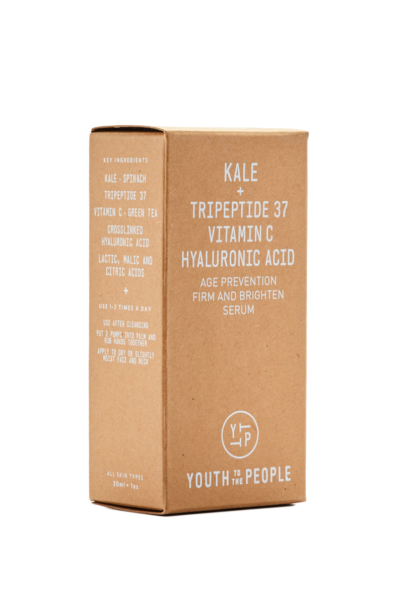 YOUTH TO THE PEOPLE Age Prevention Frim and Brighten Serum Beauty | Youth of the people age prevention firm and brighten serum