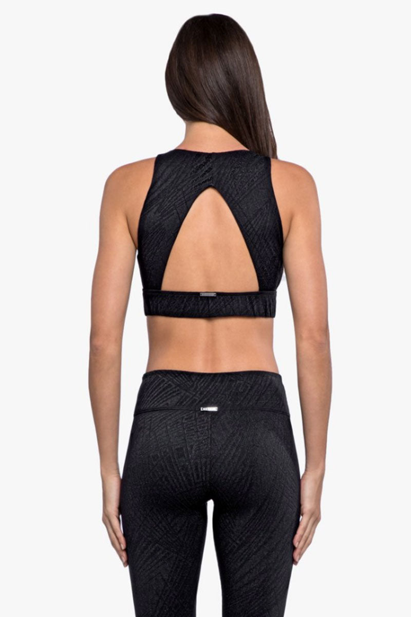 Zenith Maxen Sports Bra - Black
