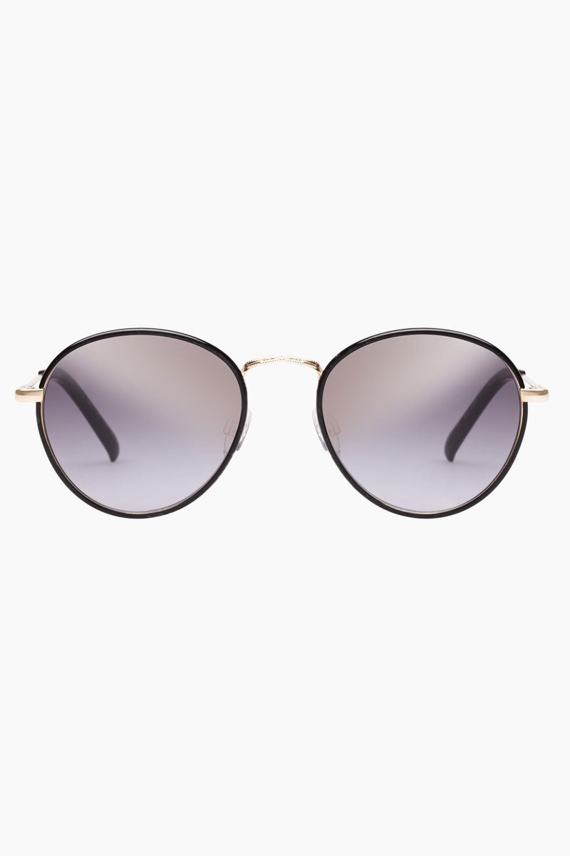 Zephyr Deux Sunglasses - Black/Smoke