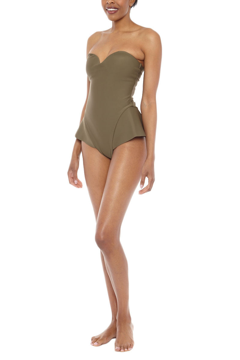 ZIGILANE Boy Scout One Piece One Piece | Olive Green| Zigilane Boy Scout One Piece