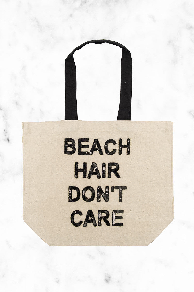 FALLON AND ROYCE Beach Hair Don't Care Tote Tote | Natural|