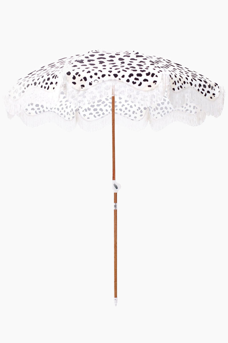 Holiday Beach Umbrella - Abstract Polka Dots