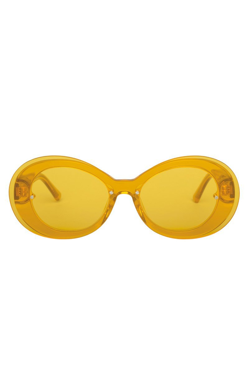 The Ai-Ren Sunglasses - Daffodillionaire Yellow