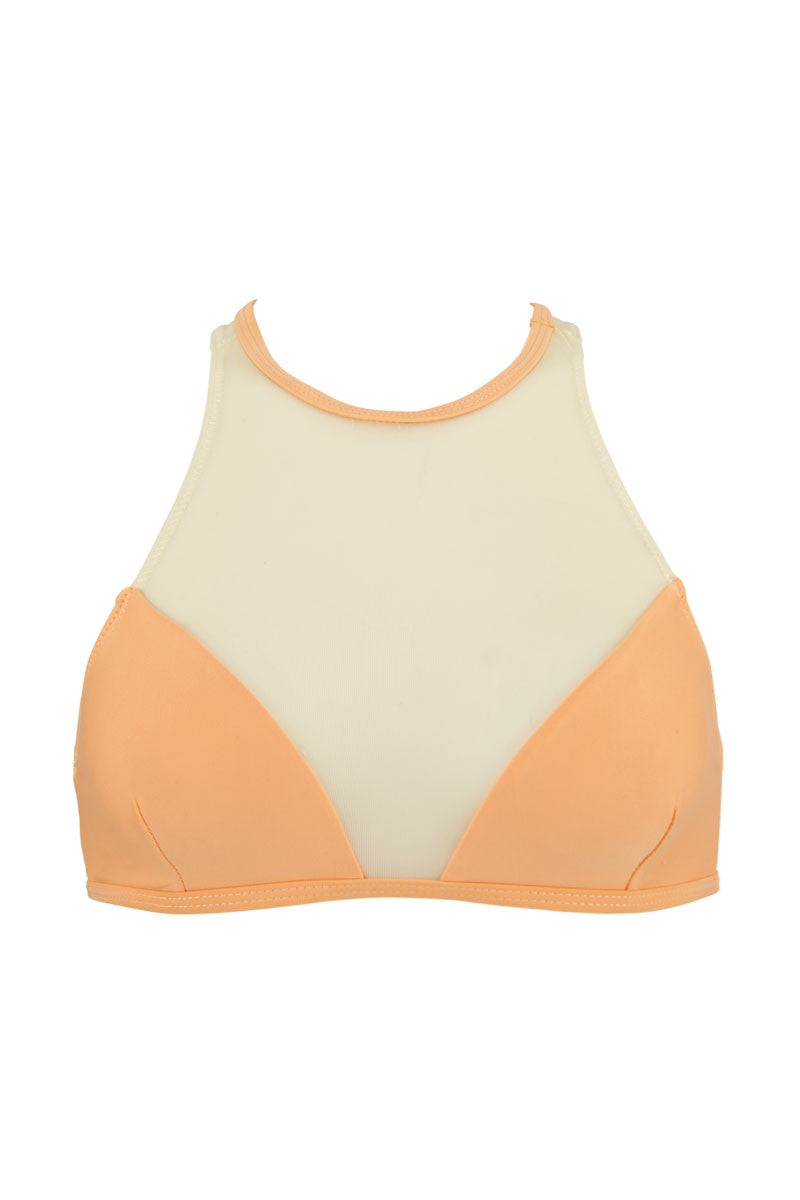 HOUSE OF AU+ORA Cocomotion Top Bikini Top | Melon| House of Au + Ora Cocomotion Bikini Top