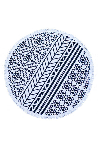 THE BEACH PEOPLE Aztec Round Towel Accessories | Aztec|