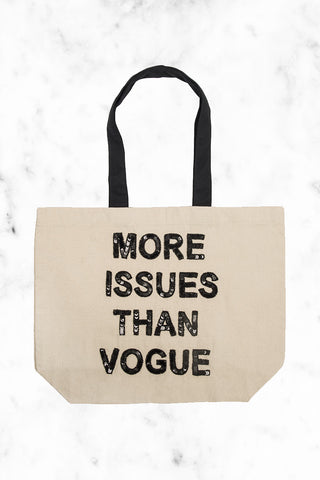 FALLON AND ROYCE More Issues Than Vogue Tote Tote | Natural|