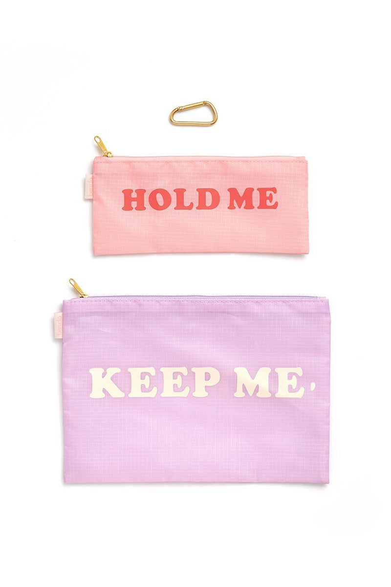 Hold Me Keep Me Carryall Duo - Purple & Pink