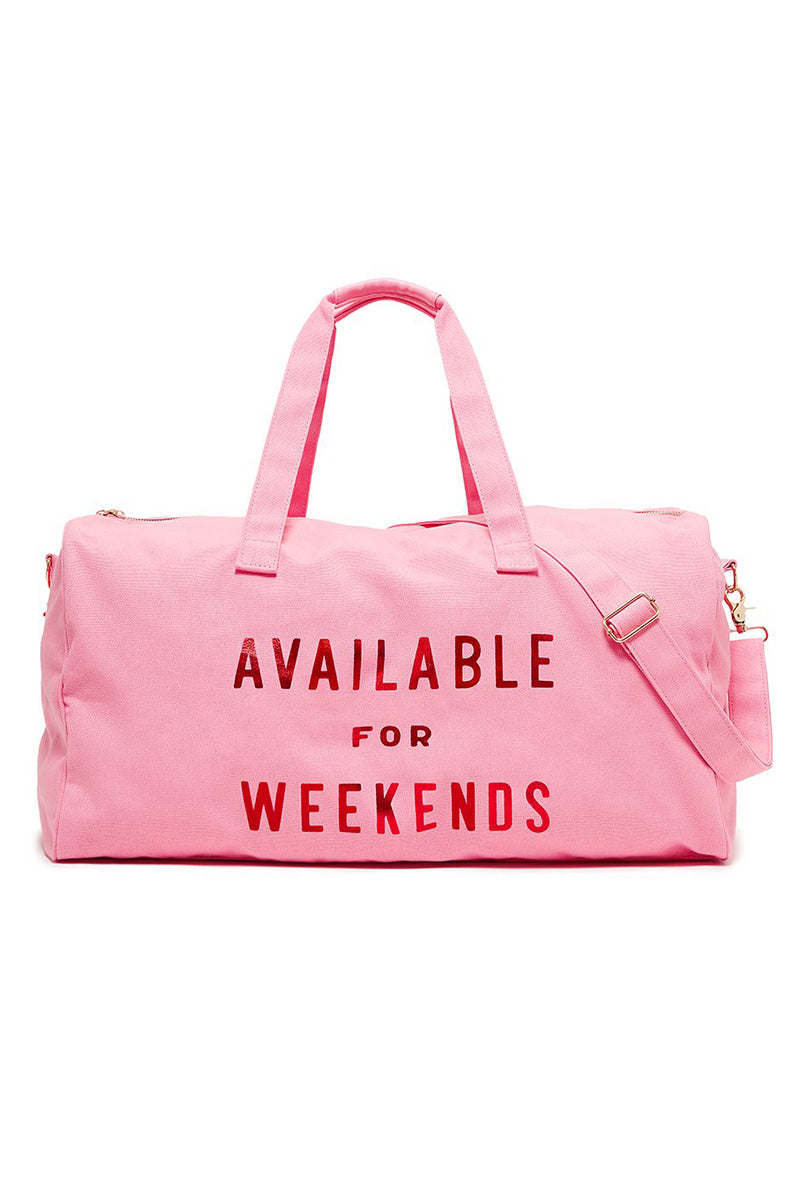 Available For Weekends Getaway Duffle