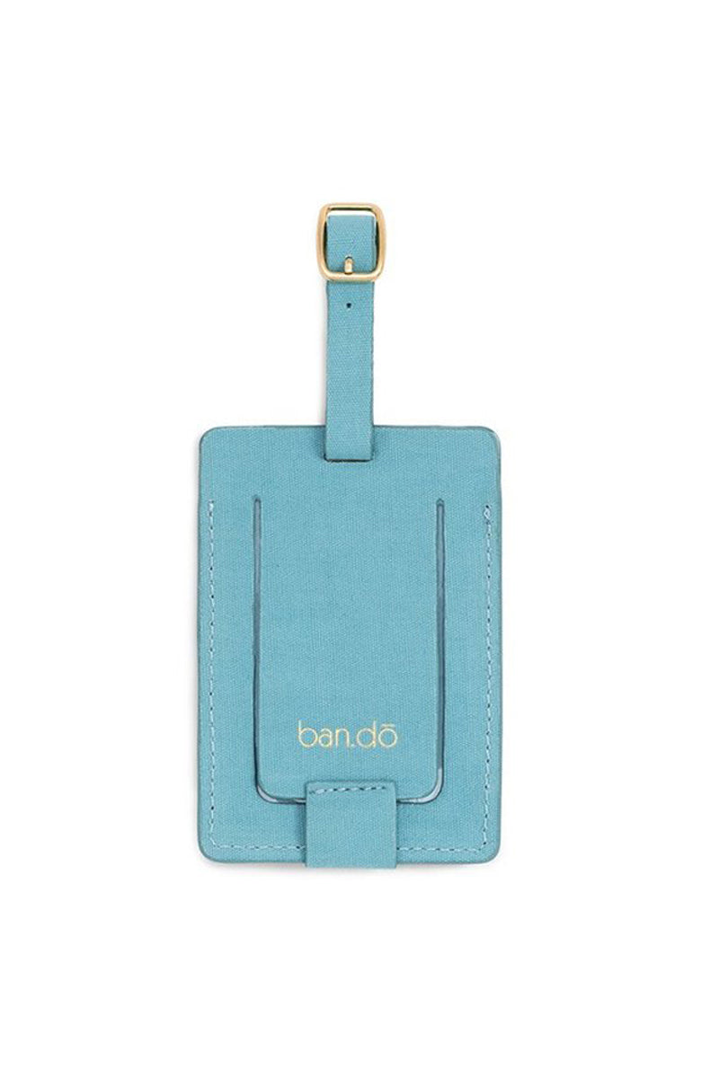 BAN.DO First Class Getaway Luggage Tag Accessories | Blue| Ban.do First Class Getaway Luggage Tag