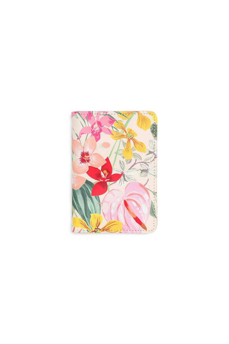 Paradiso Getaway Passport Holder - Paradiso Tropical Print