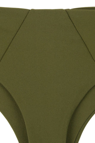 STONE FOX SWIM Skimpy Byron Bottom Bikini Bottom | Olive|