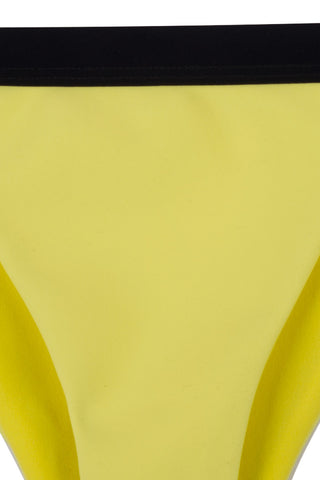 ZIGILANE Bae Watch Bottom Bikini Bottom | Yellow & Black|