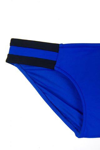 SEAFOLLY Block Party Spliced Bottom Bikini Bottom | Blue Ray|