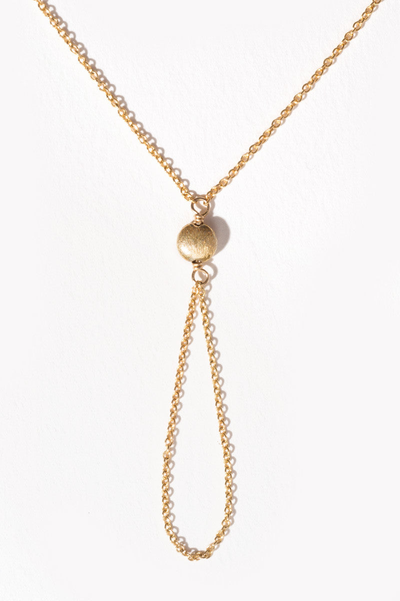 MAILEE Satellite Hand Chain Accessories | Gold|