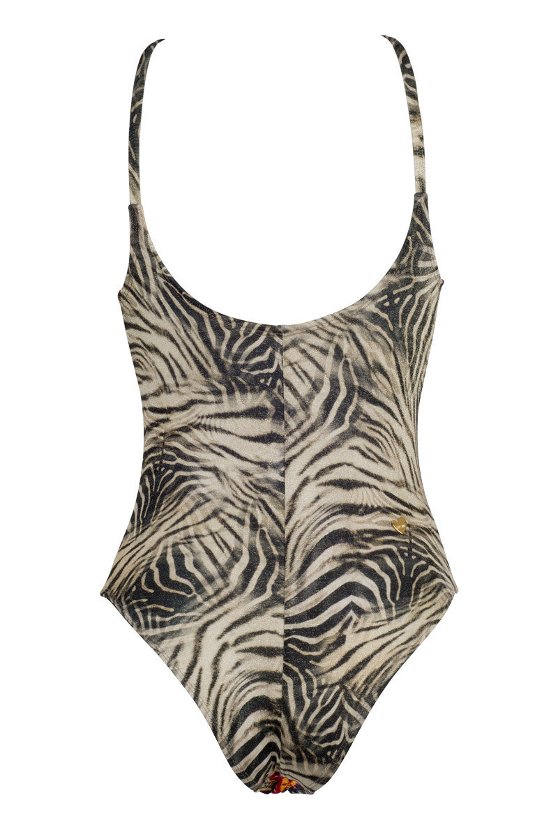 CAPITTANA Honolulu Reversible One Piece One Piece | Honolulu Print| Capittana