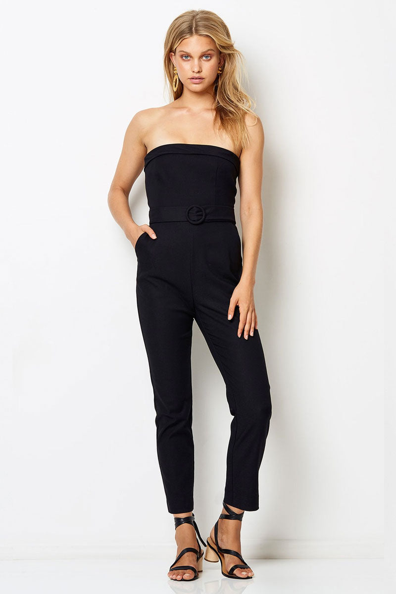 Chico Strapless Jumpsuit - Black