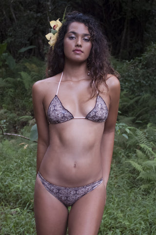 KAIMANA Triangle Top Bikini Top | Cobra|Cheyenne