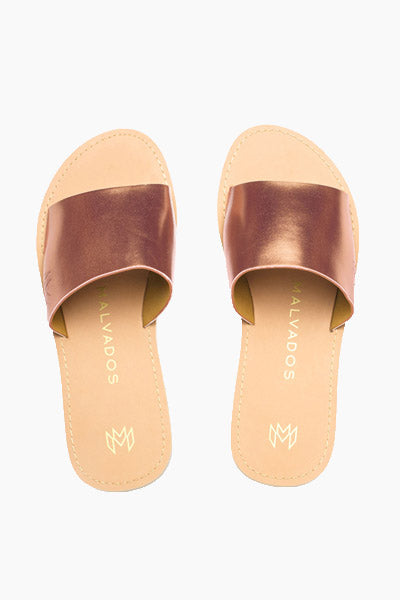 Penny Icon Taylor Sandals - Copper