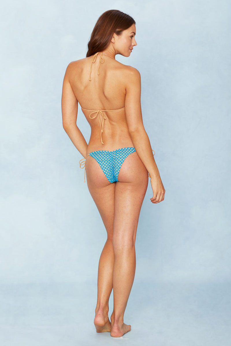 NO STRINGS ATTACHED All Caught Up Top Bikini Top | Teal|