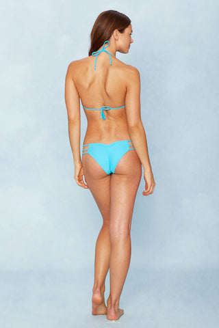 NO STRINGS ATTACHED Native Bottom Bikini Bottom | Blue Lagoon| Not Strings Attached Native Bottom