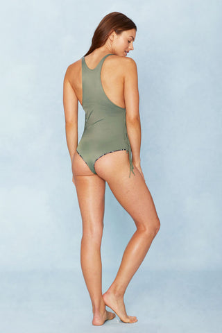 INDAH Margaux One Piece One Piece | Army Green|