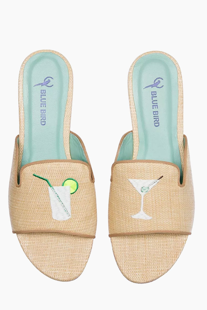 Drinks Shower Linen Flats - Creme